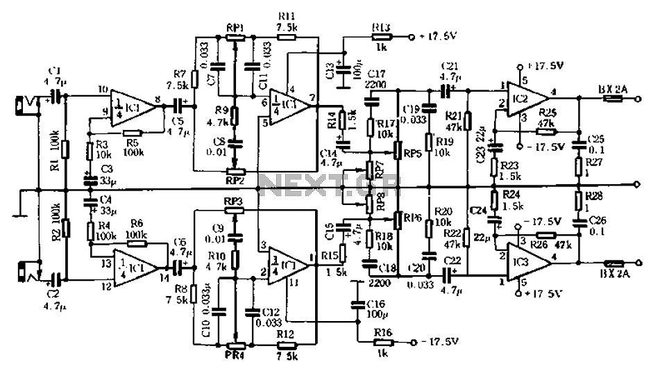 Homemade whole integrated circuit amplifiers 01 under
