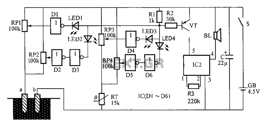 alarm circuit Page 3 : Security Circuits :: Next.gr