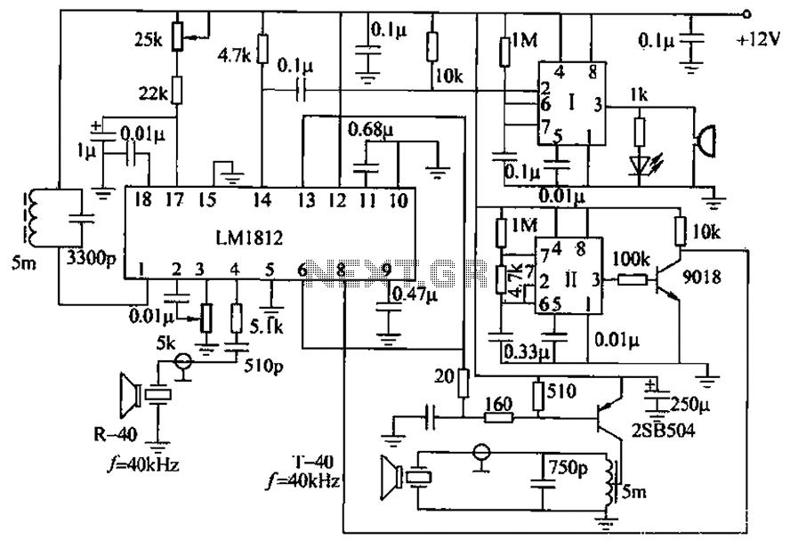 LM1812 uses ultrasonic anti-collision circuit design