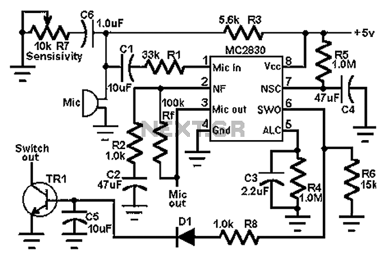Audio Preamplifiers Circuits : Audio Circuits :: Next.gr