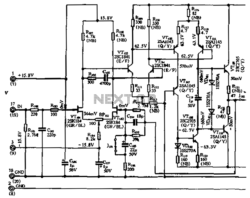 Rf Power Amplifier Schematic