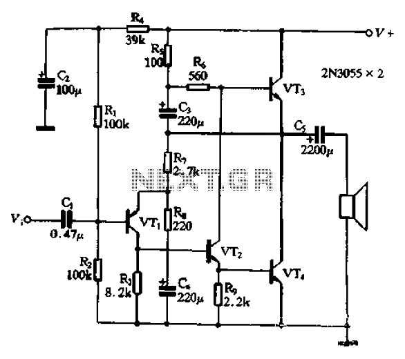 Simple Rc Oscillator Circuit Schematic Simple RC Timer