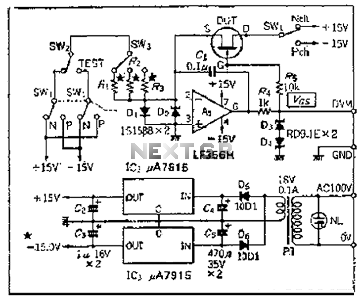 tester circuit Page 3 : Meter Counter Circuits :: Next.gr
