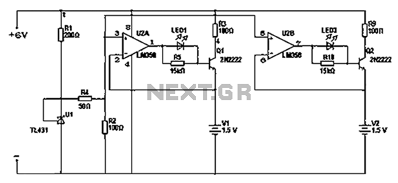 lm358 alkaline battery charger circuit