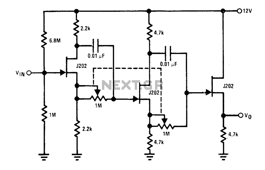0-360 phase shifter circuit diagram under Other Circuits