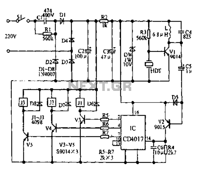 remote control circuit : Automation Circuits :: Next.gr
