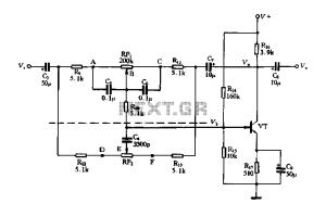 audio tone balance circuit : Audio Circuits :: Nextgr