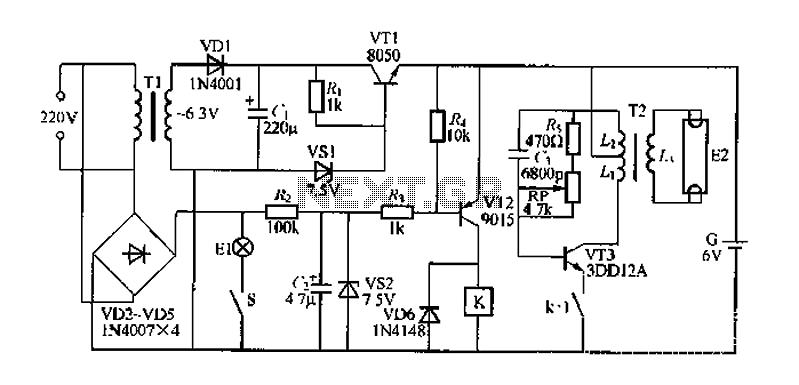 lighting circuit : Light Laser LED Circuits :: Next.gr