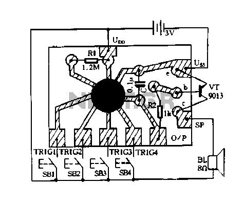 Arcade Controller Diagram, Arcade, Free Engine Image For