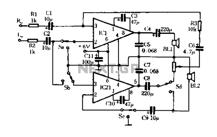 H Bridge Circuit Diagram Using Transistor