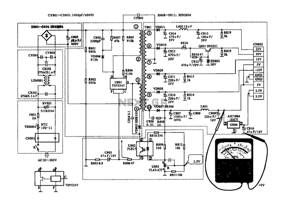 medium resolution of switching power supply power supply circuits next gr variable dc power supply schematic switching power supply circuit tv application schematic