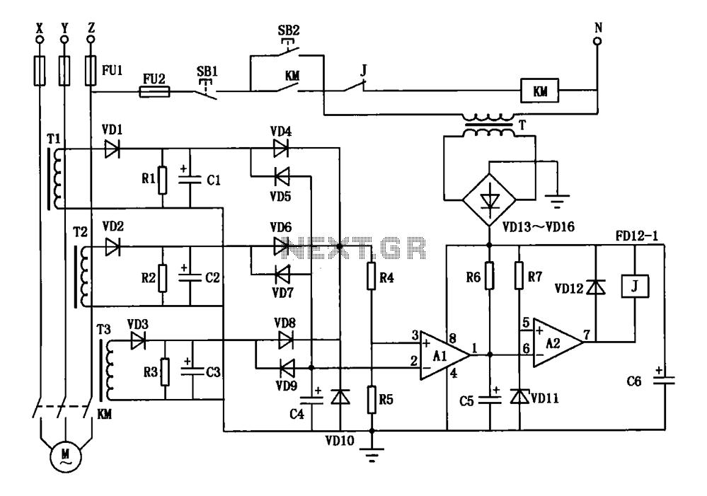 3 phase motor wiring low voltage
