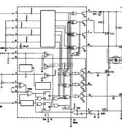circuit ring shows a typical dc brush motor driver circuit diagram 4 dc brush motor wiring diagram [ 1219 x 1111 Pixel ]