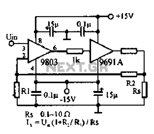 DC to 100W amplifier circuit diagram of 500KHZ under Other