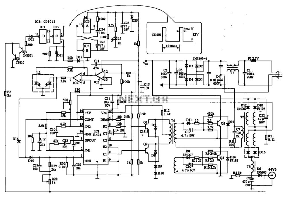 medium resolution of days to tn 1 intelligent negative pulse charging circuit
