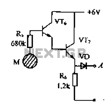 Doorbell Alarm Circuit & Water Sensing Alarm Sc 1 St
