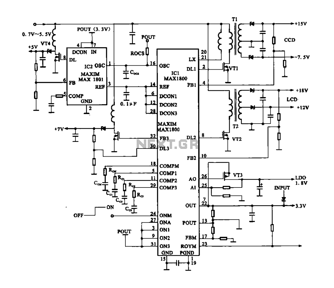 Digital Camera Circuit Diagram