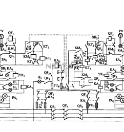 dual low voltage power supply circuit breaker electromagnetic closing each vote circuit [ 1255 x 825 Pixel ]