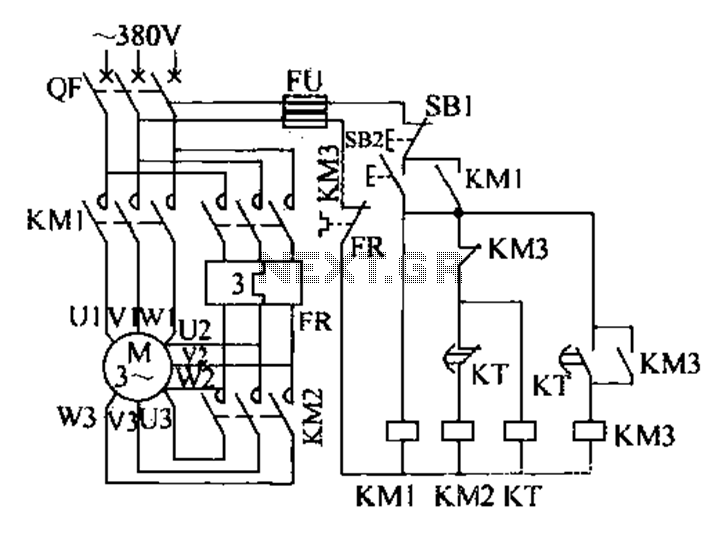 Circuit Diagram Of Fully Automatic Delta Starter