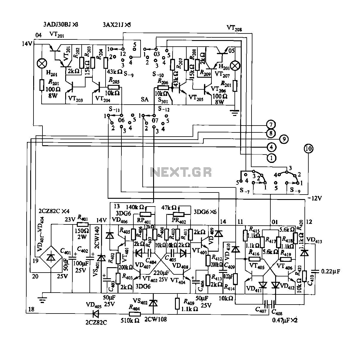 driving three phase motor on single phase supply circuit diagram