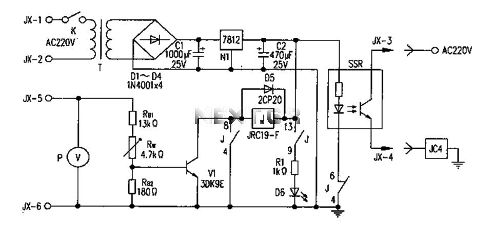 FM transmitter circuit diagram overvoltage protection