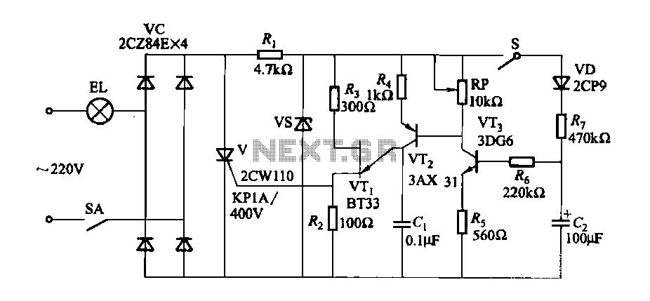 light dimmer circuit : Light Laser LED Circuits :: Next.gr