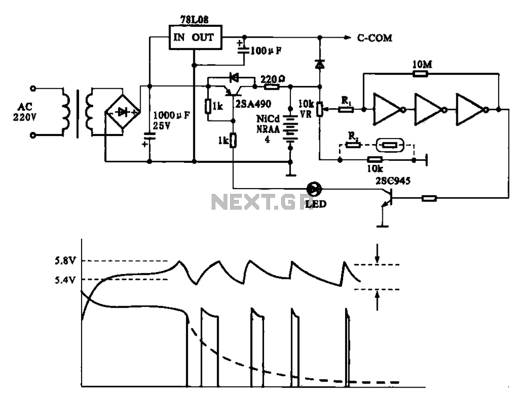 hight resolution of fast charging circuit