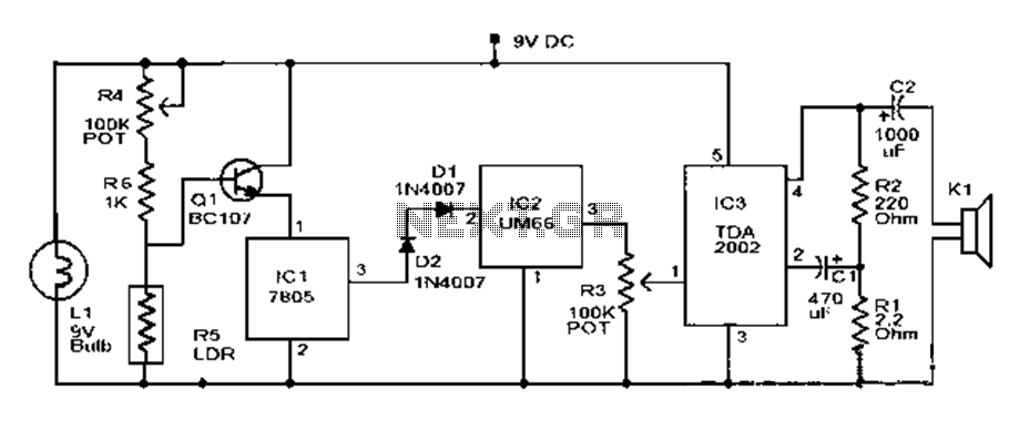alarm circuit : Security Circuits :: Next.gr