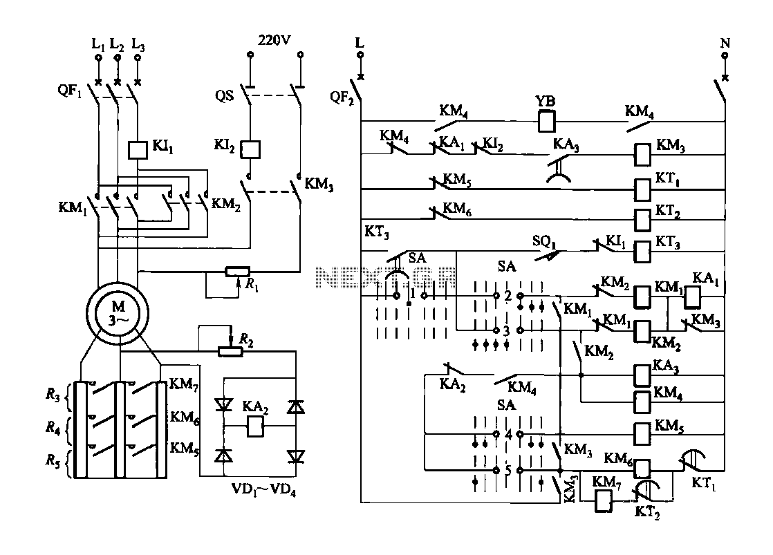 hight resolution of forward and reverse speed control circuit can be integrated with a brake function