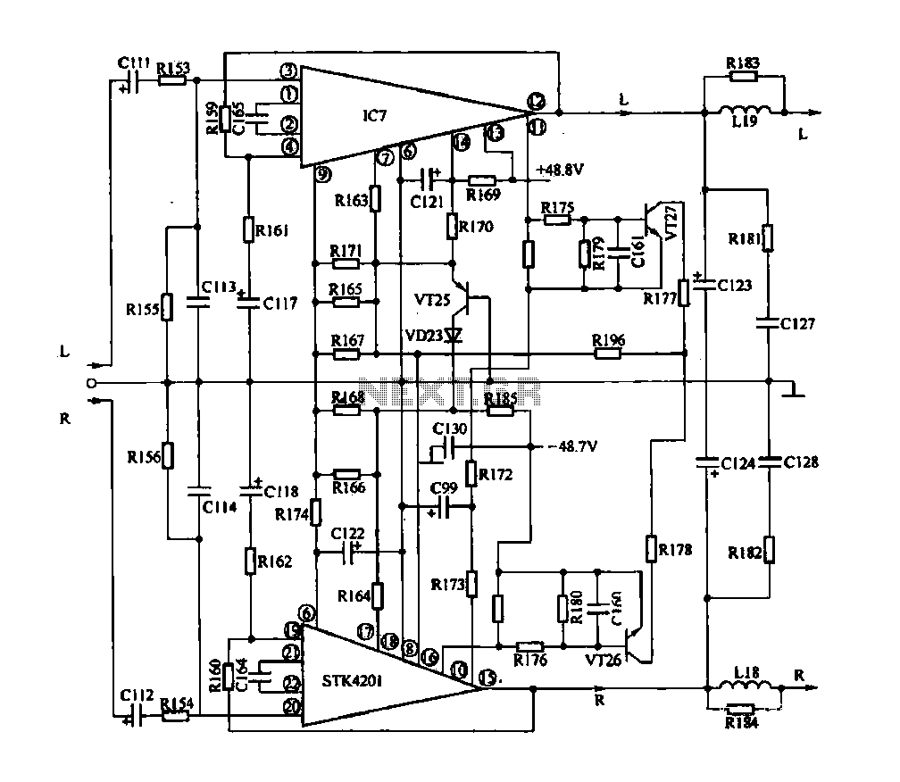 hight resolution of audio power amplifier circuit diagram audiocircuit circuit schema circuit diagram audio circuit tube amplifier typical application