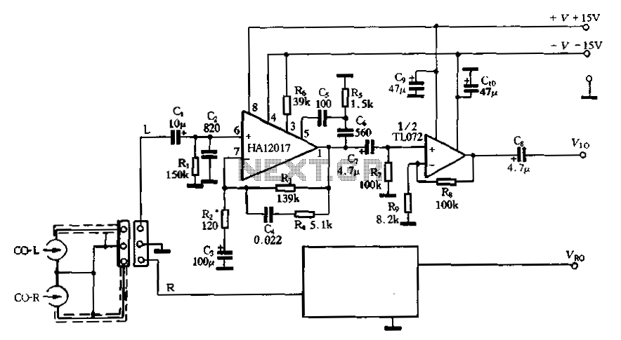 Low-noise pre-equalizer circuit : Audio Equalizer Circuits
