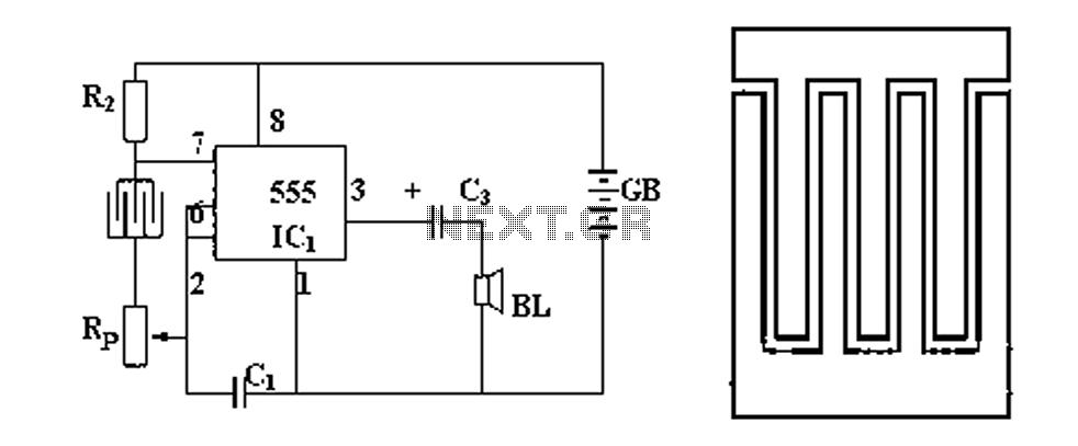 comparator circuit Page 2 : Sensors Detectors Circuits