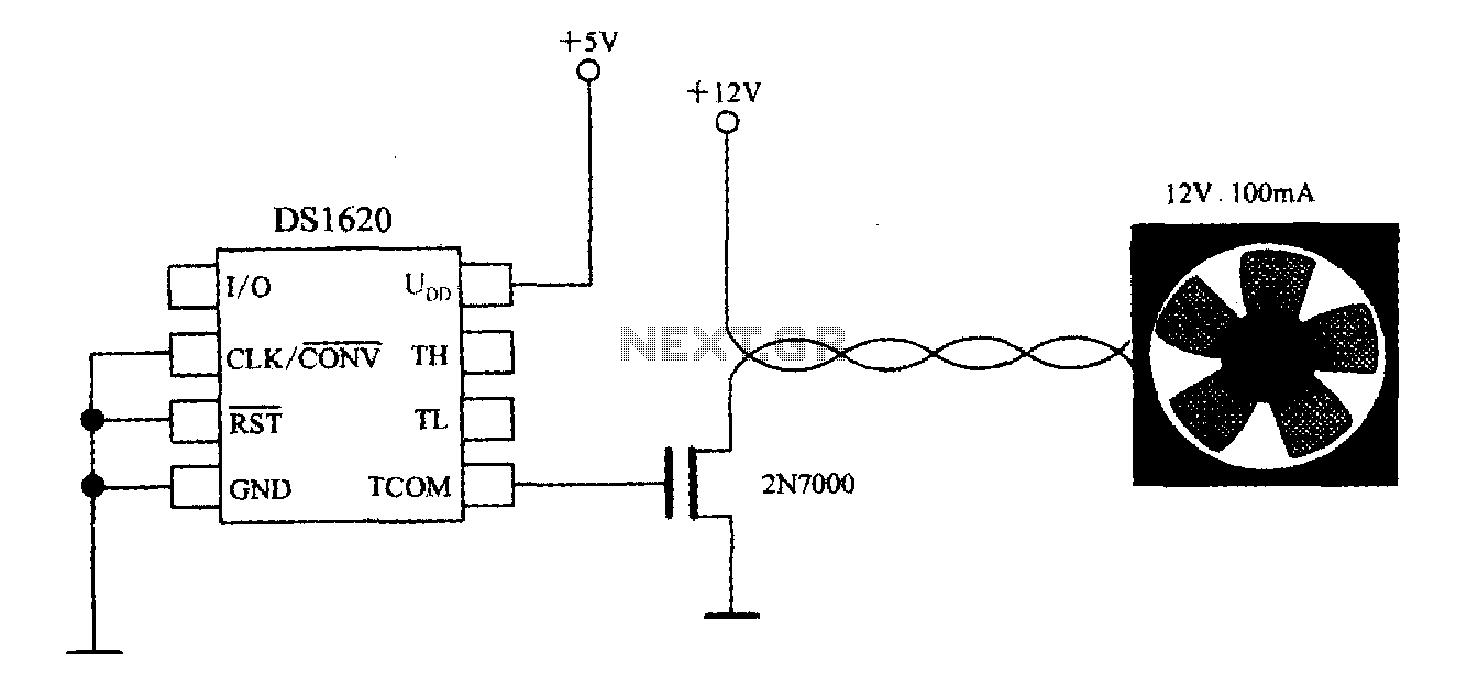 hight resolution of thermostat with three wire serial interface smart temperature sensor ds1620 configuration control circuit