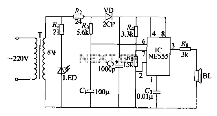 electronic insect repellent circuit