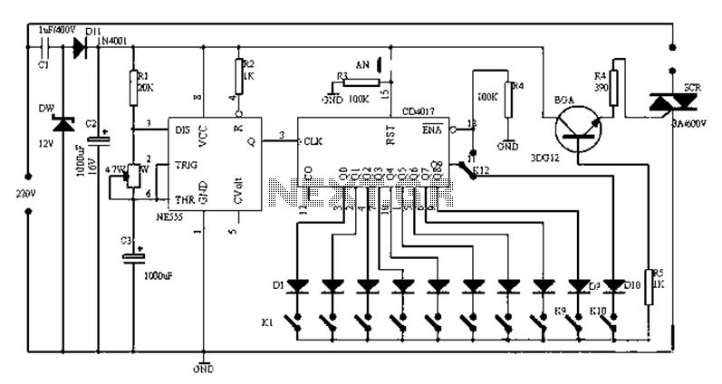 timer circuit : Meter Counter Circuits :: Next.gr