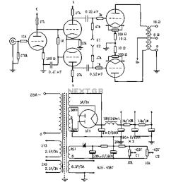 vacuum tube valve circuit audio circuits next gr 25w audio amplifier with tube schematic diagram electronic design [ 995 x 1178 Pixel ]