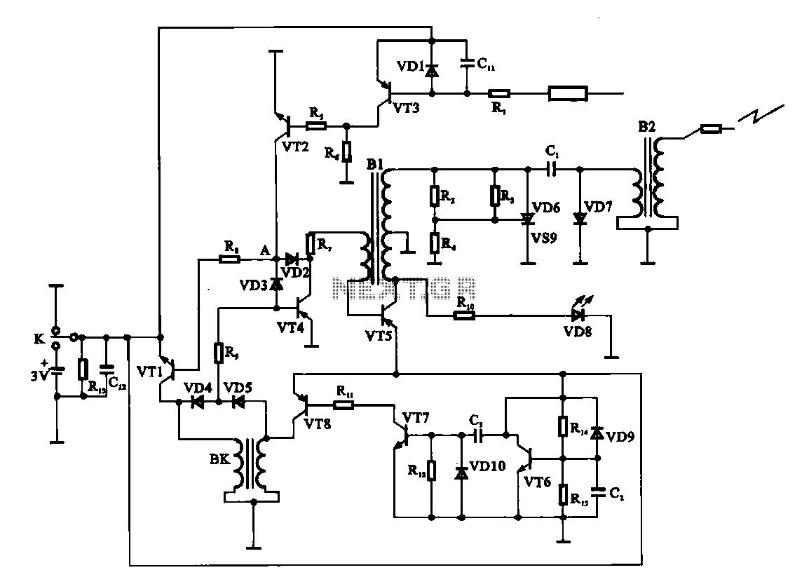 Liquid Sensor Circuit Sensors Detectors Circuits Next