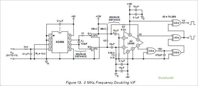 voltage to frequency circuits Page 2 : Converter Circuits