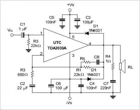 audio amplifier circuit Page 23 : Audio Circuits :: Next.gr