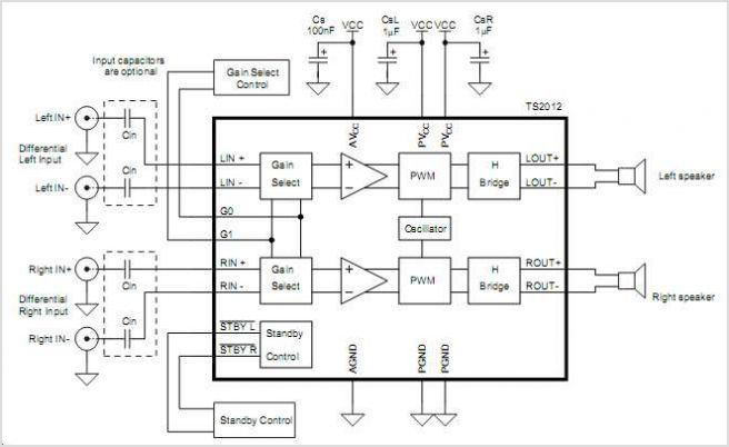 audio stereo circuit Page 6 : Audio Circuits :: Next.gr