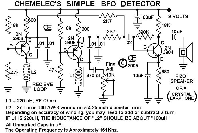 metal detector circuit Page 5 : Sensors Detectors Circuits