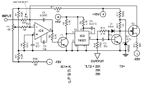Led Voltmeter Schematic LED Clock Schematic Wiring Diagram