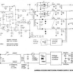 Atx 450w Smps Circuit Diagram 2007 Hayabusa Wiring At And Pc Computer Supplies Schematics  Readingrat