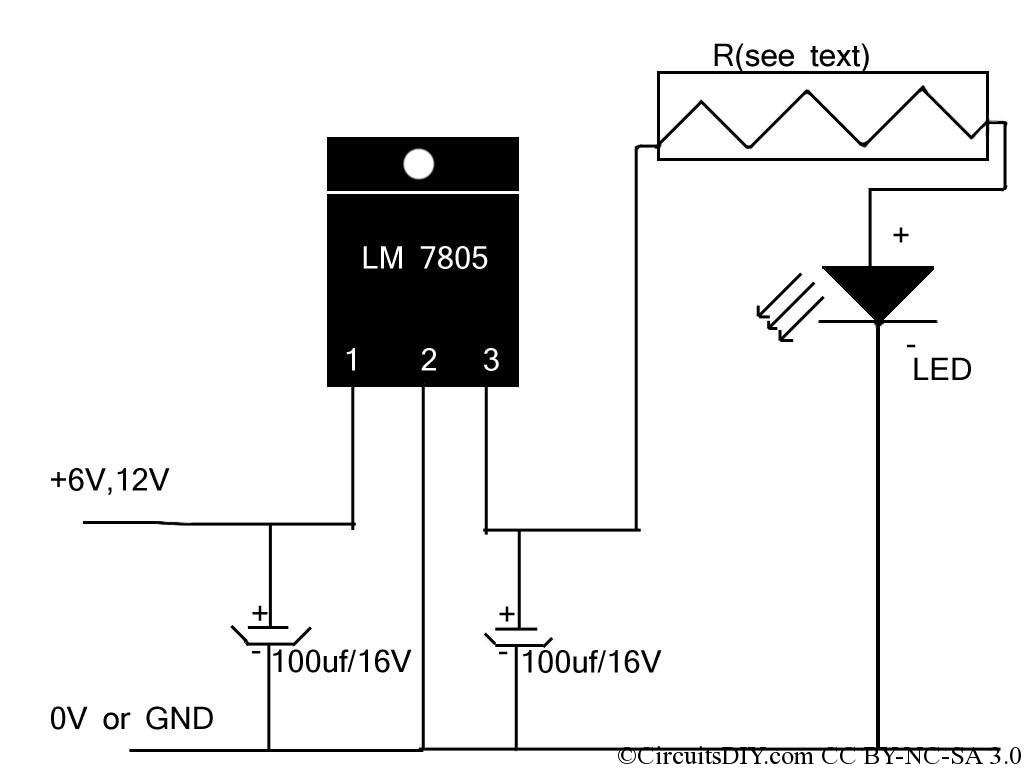 led circuit diagram ac wiring gt circuits cheapest high power driver
