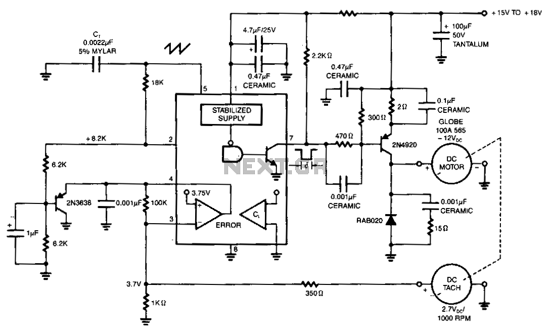 Dc-motor-drive-with-fixed-speed-control under Motor
