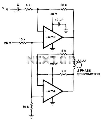 servo motor circuit : Automation Circuits :: Next.gr