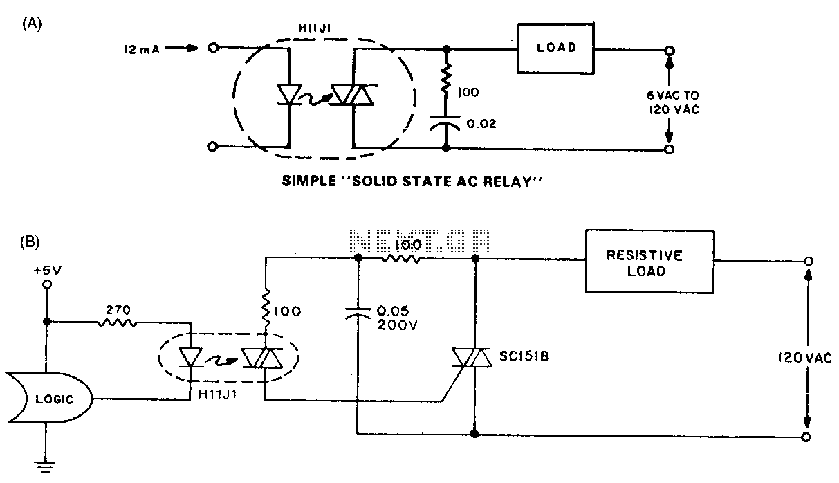 hight resolution of ac relay