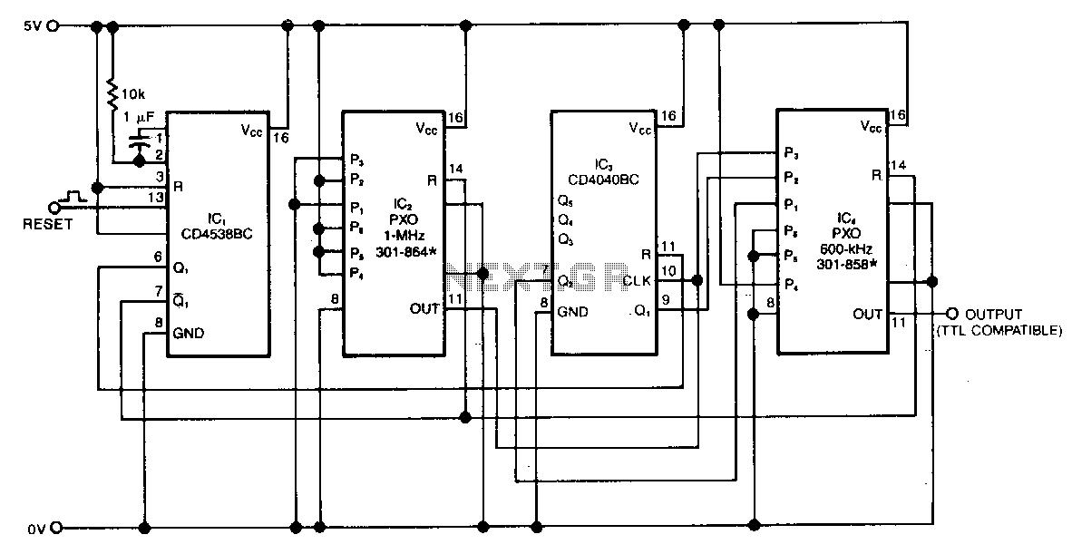 > oscillators > varius circuits > discrete sequence