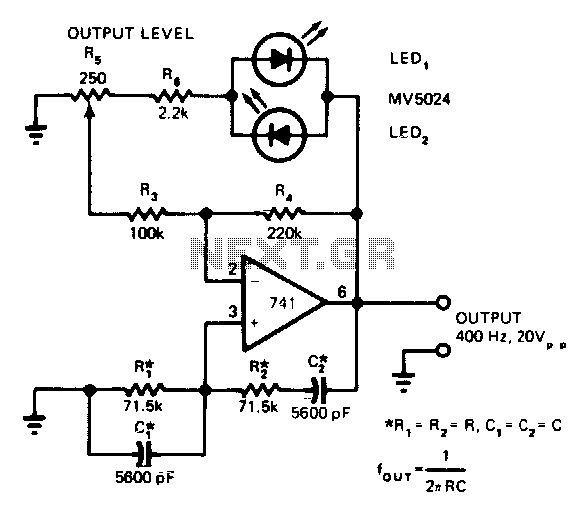 wein bridge oscillator circuit : Oscillator Circuits