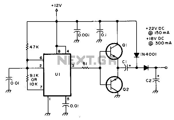 > power supplies > ac dc dc dc > regulated voltage divider